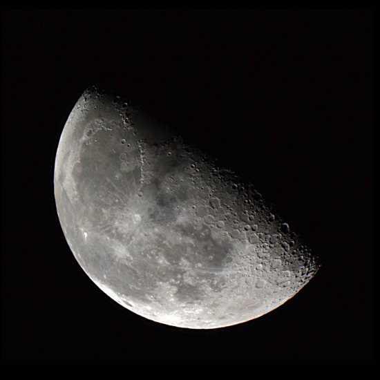 cuarto menguante luna