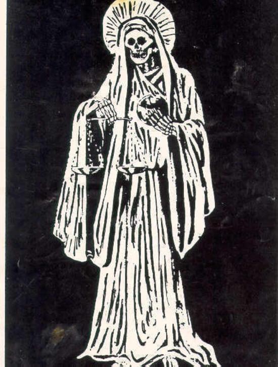 La Santa Muerte Blanca