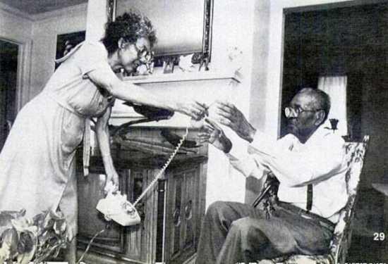 William y Minnie Winston, casa sangrante Atlanta